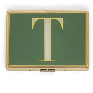 "Kate Spade It's Personal ID Initial ""T"" Holder"